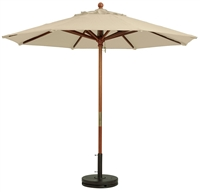 Windmaster Canvas Umbrella 9'