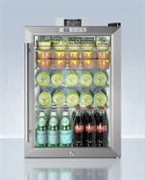 Summit Glass Front Beverage Cooler