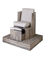 Belava Dorset Pedicure Chair - Platform