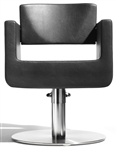"Ubox Styling Chair w/ 23""D base and Footrest"