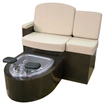 Capri Single Pedicure Bench Style w/ Heat & Massage