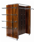 Puck H Unit Wood Retail Fixture