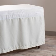 Comphy Micro-Satin Table Skirt