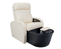 Living Earth Crafts Contour Pedicure Chair with Tilt