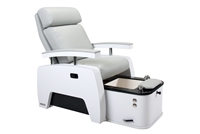 Living Earth Crafts 5th Avenue Pedicure Lounger with Tilt Back and Pipeless Hydrotherapy Tub