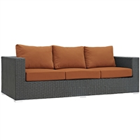 Outdoor Patio Sunbrella Sofa