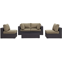 Convene 5 piece Sectional Set