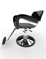 Bicolor Styling Chair - Round Base