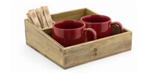 Asheville Series - Rustic Coffee Accessory/Holder