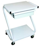 2 Shelf Cart with Drawer