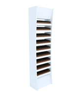 Allure Nail Polish Display- Wood Shelves