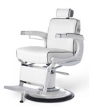 Takara Belmont Elegance Elite Barber Chair - White Frame