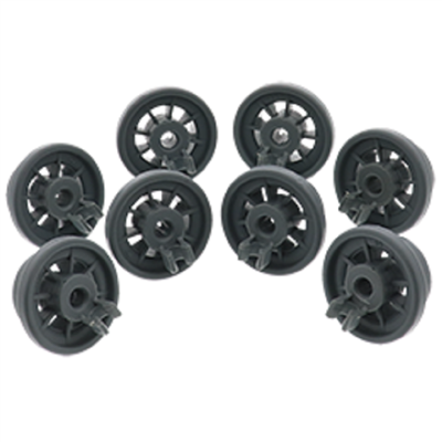 Edgewater Parts 12004485 Set Of 8 Rollers Compatible With Bosch Dishwasher