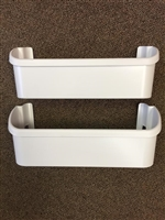 240351601 (2 Pack)  Freezer Door Bin fits Frigidaire and Electrolux Refrigerator