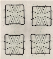 74001086 Set of 4 Burner Grate for Whirlpool, Maytag, Magic Chef,
