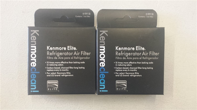 (2 Pack) 469918 Genuine  Kenmore Elite air screen filter . For clean air flow