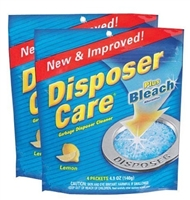 Glisten  DP06N-PB Disposer Care Foaming Garbage Disposer Cleaner 4.9 ounces 2 Pack