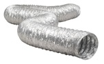 TD425 Dryer Venting 25' Aluminium Flexible