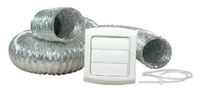 TD48PVKZW6 ProVent Dryer Vent Kit, White