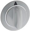 WE1M964 Dryer Knob, Gray, for General Electric dryer