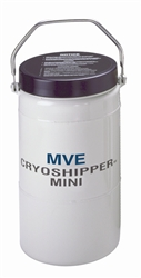 "CryoShipper Mini with 4"" Slot Dry Vapor Shipper"