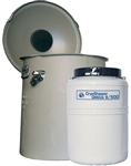 SC 4/2V, QWick 10/100 Manual Fill Liquid Nitrogen Freezer