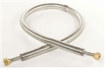 "LN2 Low Pressure Transfer Hose - 4' X 1/2"" Diameter"