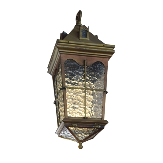 Early 20th Century Argentine Pendant Light