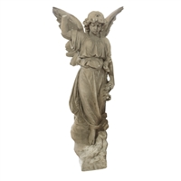 Italian Carved Marble Angel