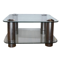 Mid Century Modern American Glass Coffee Table