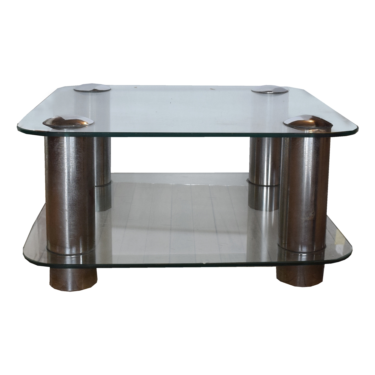 Cool Mid Century Modern American Glass Coffee Table Home Interior And Landscaping Oversignezvosmurscom