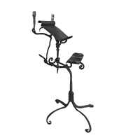 Italian Wrought Iron Book Stand