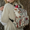 CLEARANCE!  KF537 Alpaca Print Backpack