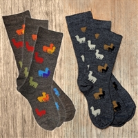 KK550 Kids Alpaca Herd Sock