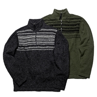 CLEARANCE! MS548 Orion Half Zip - Evergreen XXL Only