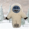 RF566 Fuzzy Yeti Ornament