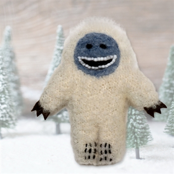 Backorder 12/10: RF566 Fuzzy Yeti Ornament