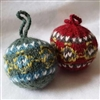 RF580 Heritage Knits Fair Isle Ball Ornament