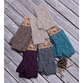 FINAL CLEARANCE: RG513 Boho Cable Wrist Warmer
