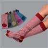 RK293 Alpaca Stripe Knee Sock