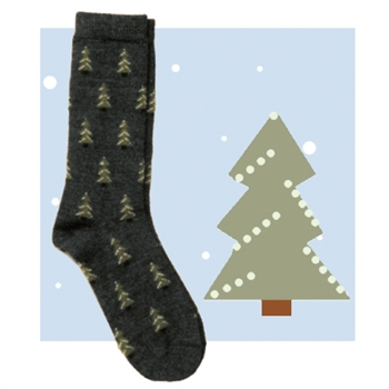 RK367 Pine Tree Sock