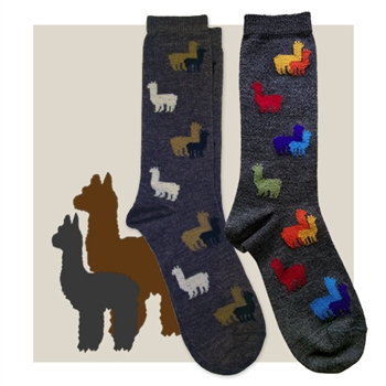 RK390 Alpaca Herd Sock