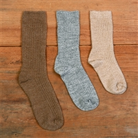 CLEARANCE! RK481 Kid's AlpacaCopper Crew Sock