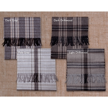 RR411 Brushed Plaid Scarf