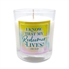 GLIMMER OF HOPE Scripture Candle - Spring Awakening