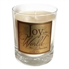 "ABBA Frankincense & Myrrh ""Joy to the World"" Scripture Candle"