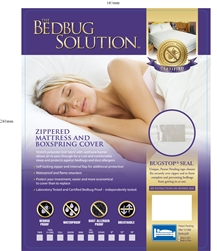 BedBug Solution Hybrid Mattress cover long Twin size