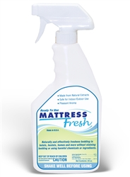 Mattress Fresh Bed Bug Killer 100% pesticide Free 24 oz spray bottle 12 to a case