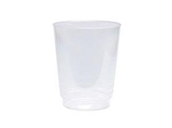 7 oz Clear PLA Compostable Cold Cup Case/1000