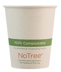6 oz NoTree Paper Hot Cup